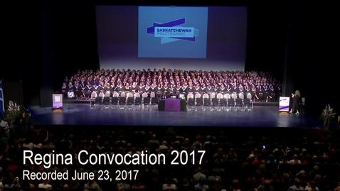 Thumbnail for entry Convocation 2017 Regina