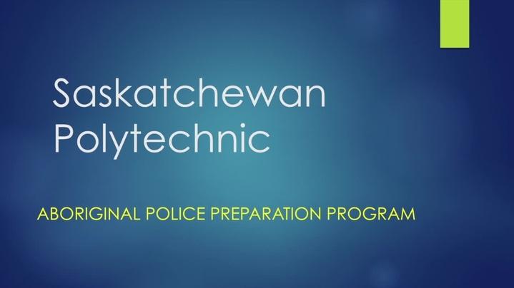 Thumbnail for channel Aboriginal Police Preparation Program Presentation