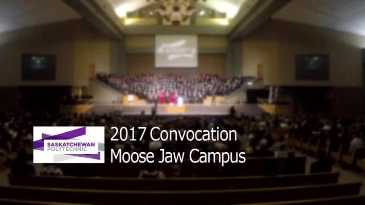 2017 Convocation Moose Jaw Campus