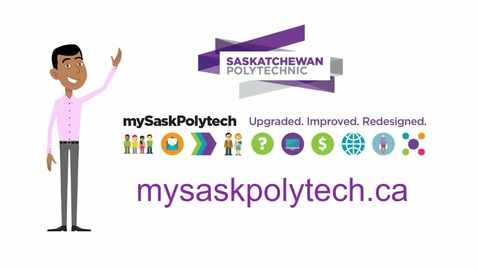 Thumbnail for entry Student introduction to mySaskPolytech