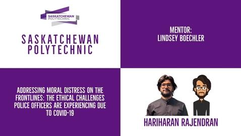 Thumbnail for entry Hariharan Rajendran