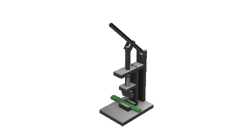 Thumbnail for entry Cable Punch Machine