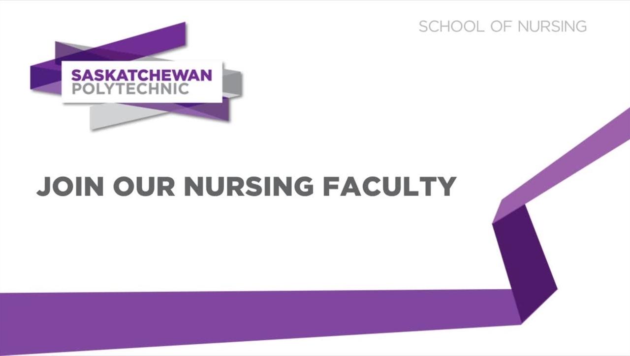 Saskatchewan Polytechnic - Nurses Recruitment