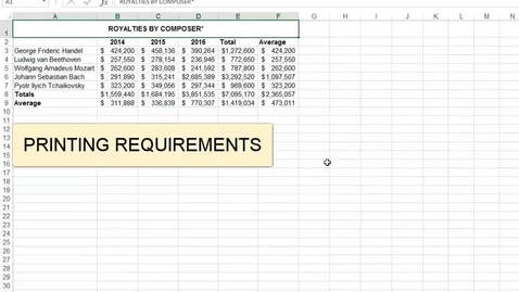Thumbnail for entry Printing Requirements for Excel Assessments