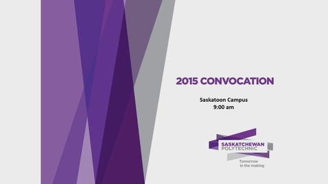 Thumbnail for entry Convocation_Stoon 2015 (AM)