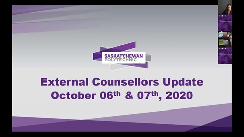Thumbnail for entry 2020-10-06 Counsellors Update Q&A