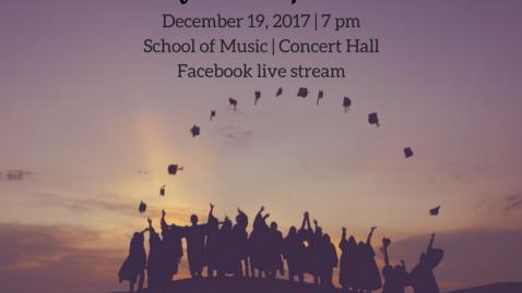 Thumbnail for entry Nursing Graduation 2017-12-19