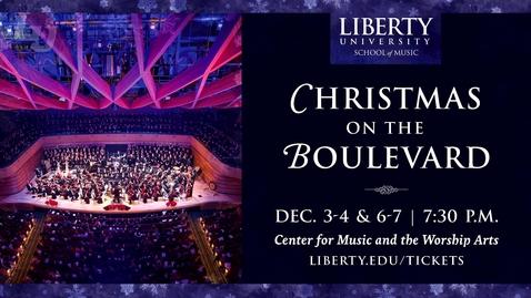 Thumbnail for entry Christmas on the Boulevard - Handel's Messiah - 2018
