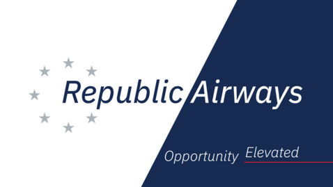 Thumbnail for entry SOA Hosts Republic Airways CEO, Bryan Bedford - Tues, Oct. 15 6PM ET