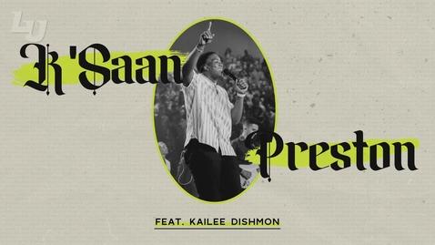 Thumbnail for entry Student Concert: K'Saan Preston feat. Kailee Dishmon
