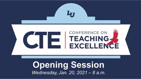 Thumbnail for entry *CTE Faculty Conference | January 20, 8:00AM