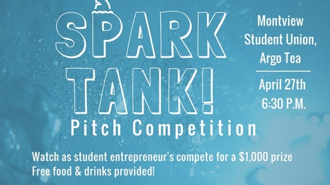 Thumbnail for entry Spark Tank - Pitch Competition Live!