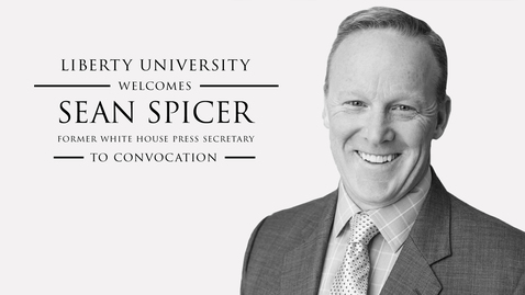 Thumbnail for entry Sean Spicer - The Briefing: Politics, The Press, and The President