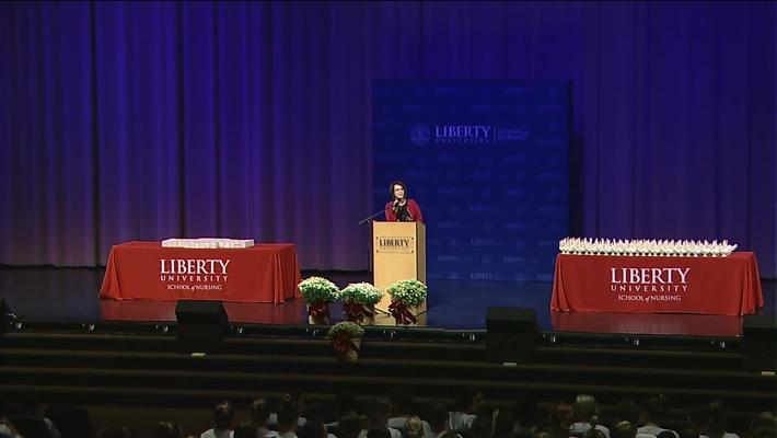 Liberty University Nursing Welcomes You to the 2018 Nursing Dedication Ceremony