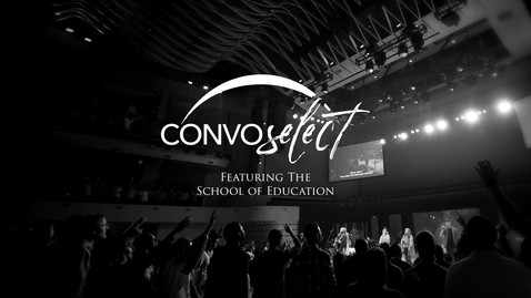 Thumbnail for entry Ben Talley - School of Education Convo