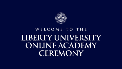 Thumbnail for entry Online Academy Ceremony | May 15, 9:00 AM
