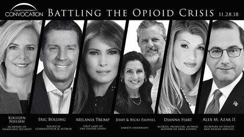 Thumbnail for entry Eric Bolling, Melania Trump, Kirstjen Nielsen, Alex Azar II - Battling the Opioid Crisis