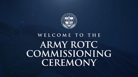 Thumbnail for entry Army ROTC Ceremony | May 14,  4:00 PM