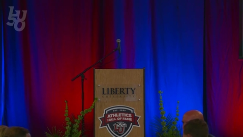 Thumbnail for entry Liberty Athletics Hall of Fame Banquet   Sept.3, 6:00PM