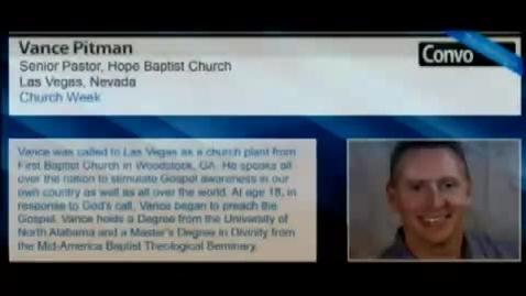 Thumbnail for entry Vance Pitman - The Kingdom of God