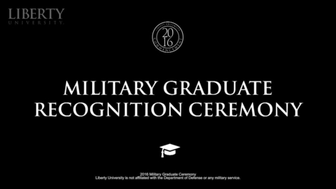 Thumbnail for entry LU Commencement 2016 - Steven E. Keith