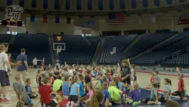Thumbnail for entry Little Ballers: LU Men's Basketball Camp 2017