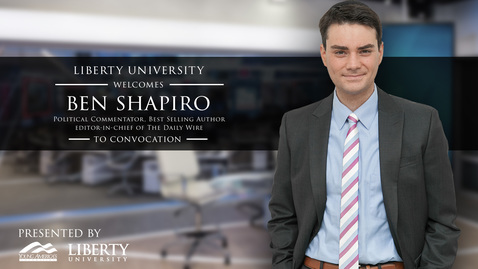 Thumbnail for entry Ben Shapiro - How To Defend Judeo-Christian Politics