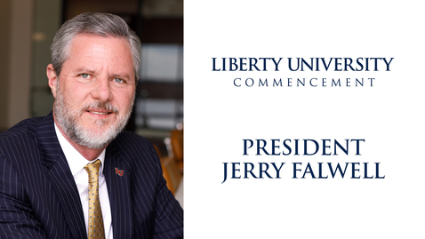 Thumbnail for entry LU Commencement 2019 - LU President, Jerry Falwell Jr.