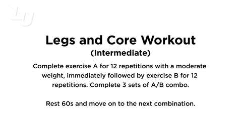Thumbnail for entry Legs & Core (Intermediate)