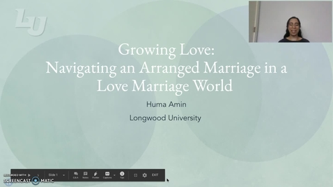 Thumbnail for entry Growing Love: Navigating and Arranged Marriag in a Love Marriage World (#14)
