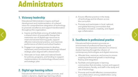 Thumbnail for entry EDUC 730 - Module 2 - Standards for Administrators