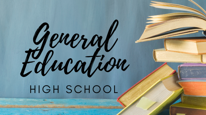 Thumbnail for channel General Education - High School