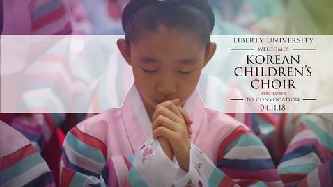 Thumbnail for entry Korean Children's Choir - Heavenly Realms