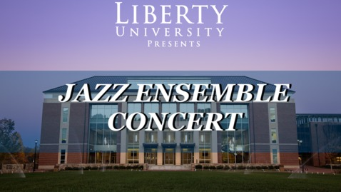 Thumbnail for entry Jazz Ensemble Fall Concert | Oct. 15, 7:30PM