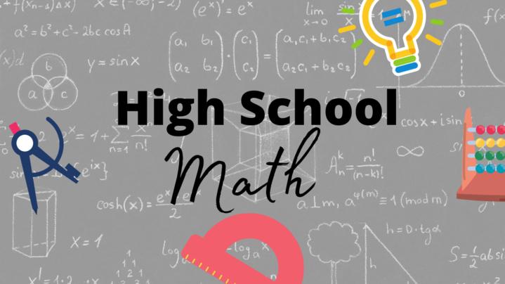 Thumbnail for channel High School Math