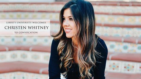 Thumbnail for entry Christen Whitney - Use Your Platform for God