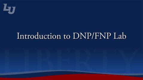 Thumbnail for entry DNP/FNP