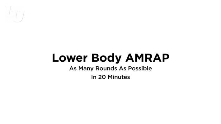 Lower Body AMRAP