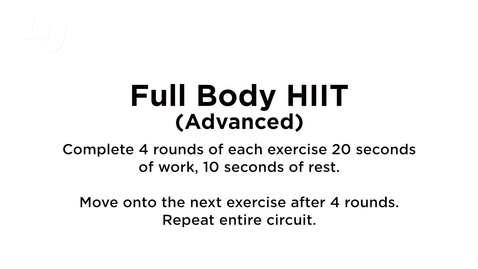 Thumbnail for entry Full Body HITT (Advanced)