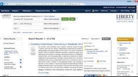 Thumbnail for entry Organizing Your Research Using Library Resources