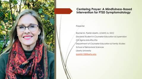 Thumbnail for entry Centering Prayer A Mindfulness Based Practice for PTSD Symptomatology (#5)