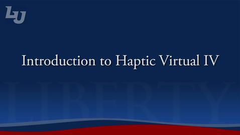 Thumbnail for entry Virtual IV Simulation
