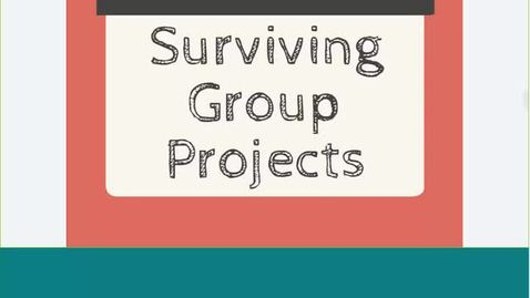 Thumbnail for entry Surviving Group Projects