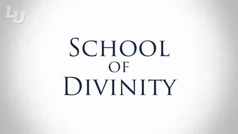 Thumbnail for entry School of Divinity