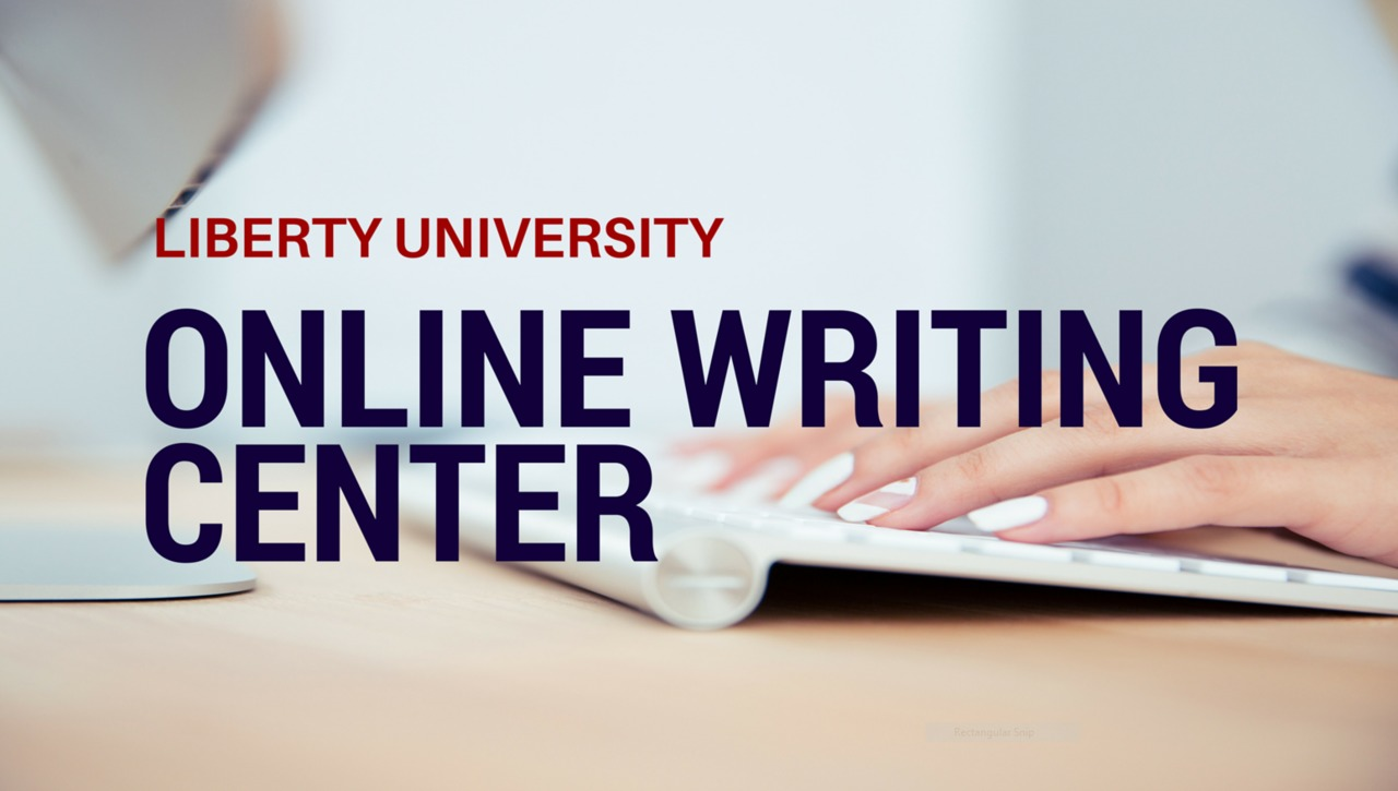 Using the Online Writing Center