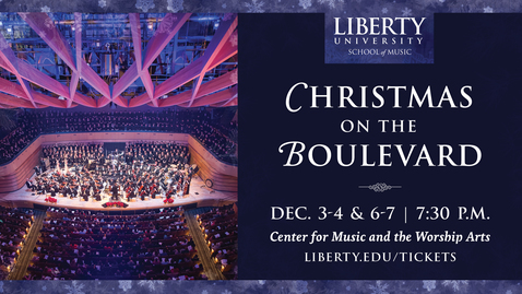 Thumbnail for entry Christmas on the Boulevard - Handel's Messiah
