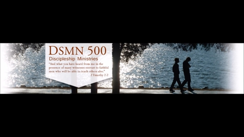 Thumbnail for entry DSMN 500 Welcome video