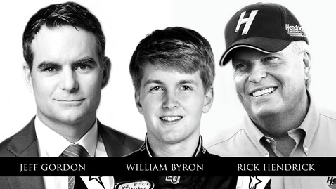 Jeff Gordon, William Byron, Rick Hendrick - We the Champions