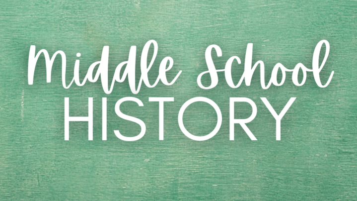 Thumbnail for channel Middle School History