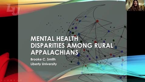 Thumbnail for entry Mental Health Disparities Among Rural Appalachians(#9)